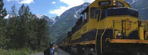 Alaska Railroad to Spencer Whistlestop