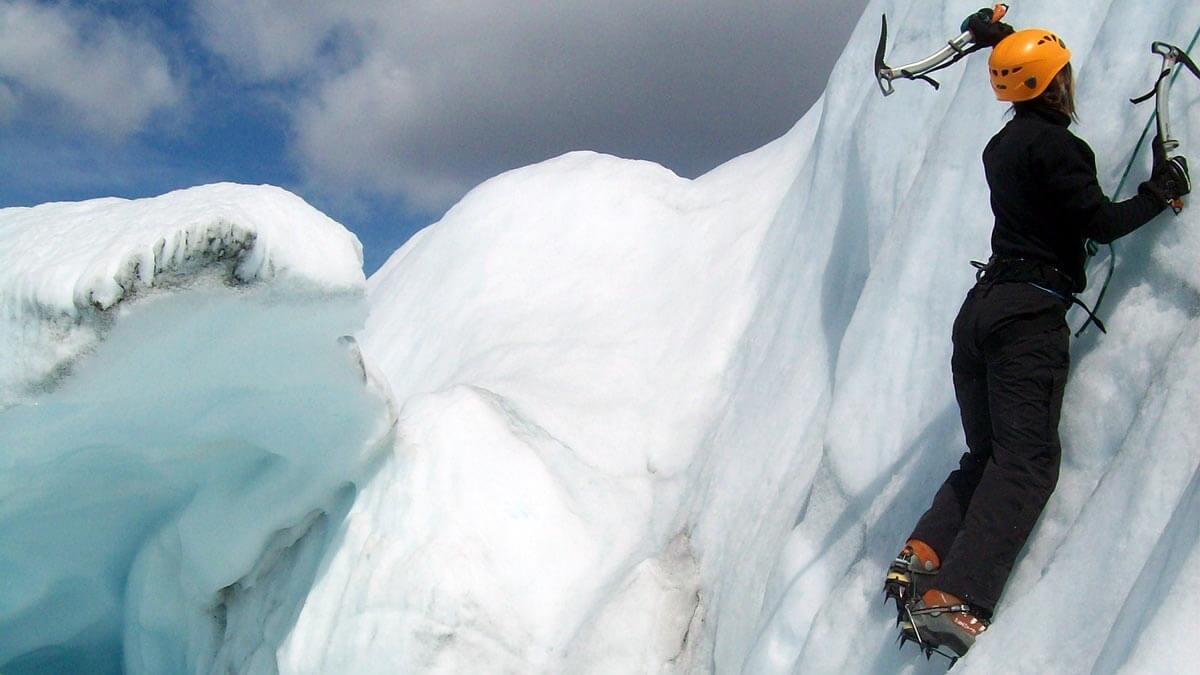 Alaska Summer ice climbing