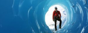 Explore glacier ice caves and tubes in Alaska with Ascending Path guides