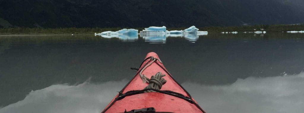 Iceberg Kayaking at Spencer