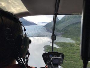train kayak heli ice